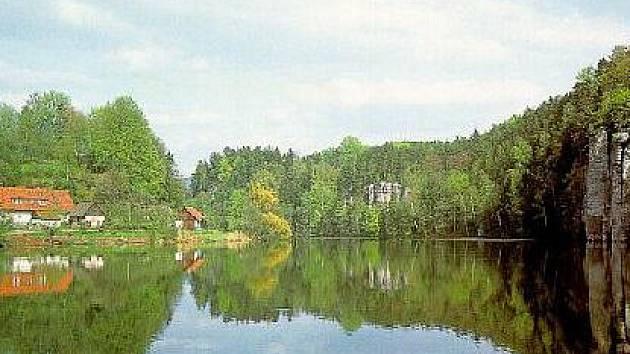 Rybník Vidlák.