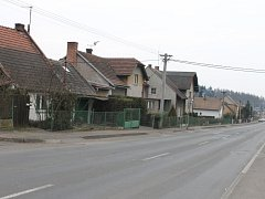 Kopidlenská Husova ulice.
