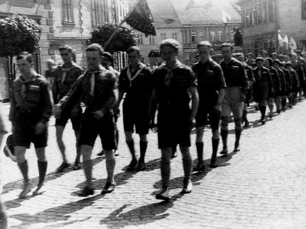 Skautský sjezd roku 1935.
