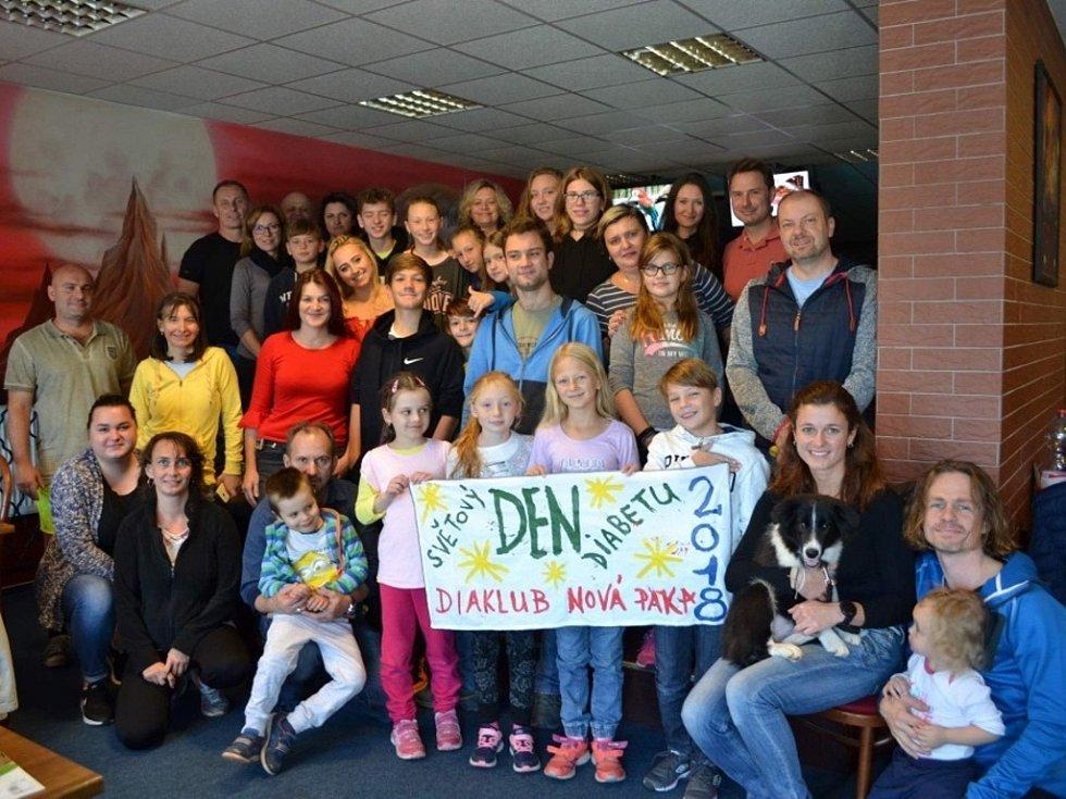 Diaklub oslavil den diabetu tradičně sportem.