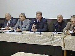 Zasedání předsednictva Českého svazu bojovníků za svobodu.