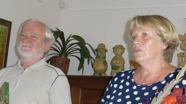 Výstava manželů Kalouskových v muzeu v Železnici
