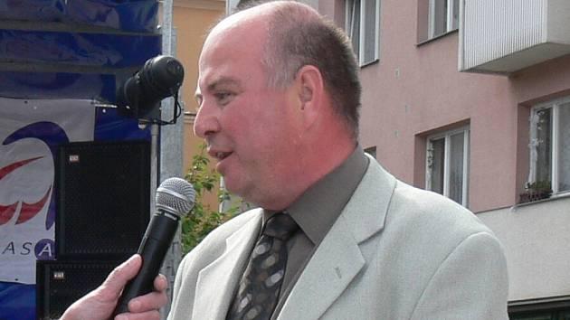 Starosta Jičína ing. Martin Puš.