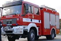 Také bělohradští hasiči užívají od října 2007 novou cisternu.