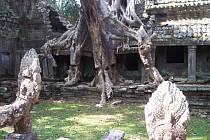 Kambodža - Angkor Wat.