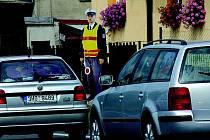 Kradou se nejen dopravní značky, ale v Ohařicích i figuríny policistů.