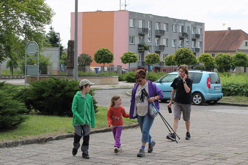 Z turistického pochodu Krajem Eduarda Štorcha.