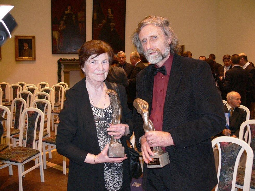 Laureáti Lidka Lisá a Josef Novotný.