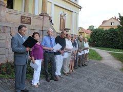 Bělohradské připomenutí obětí 1. světové války.