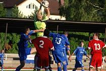 PO PŘEVÝŠOVU přijede na Letní stadion v Jírových sadech další ambiciózní východočeské mužstvo FK Náchod.