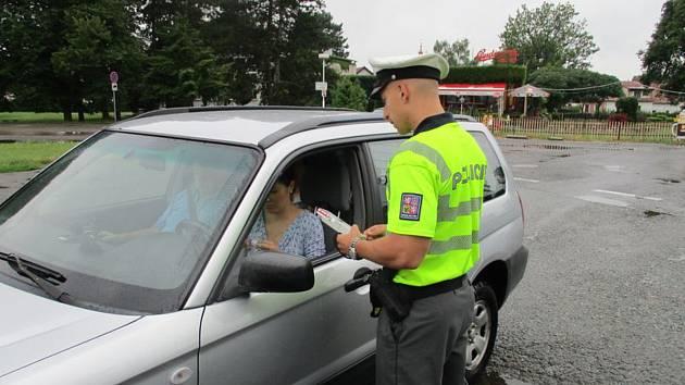 Kontroly policistů na Jičínsku