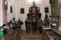 Koncert v ostruženském kostele.