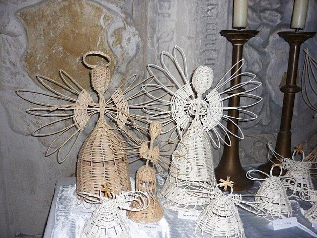 Andělské exponáty.