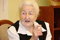 Marie Fišerová z Hořic oslavila 106. narozeniny.