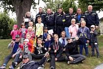 Mladí hasiči ze Sobotky vroce 2019.