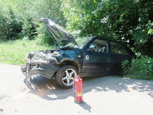 Dopravní nehoda uMezihoří.