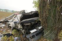 Dopravní nehoda u Vojic.