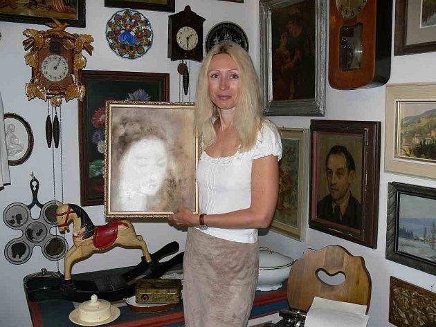 Pavlína Gardiánová ve staropacké galerii.