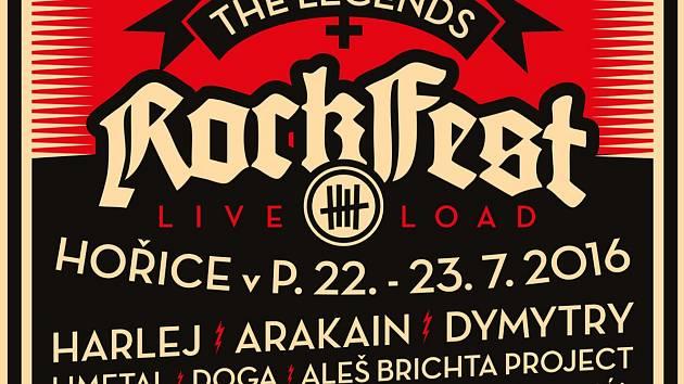 Rockfest v Hořicích - program 2016.