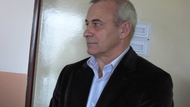 Starosta Valdic Zdeněk Žurek.