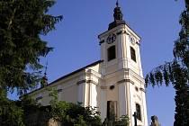 Konecchlumský kostel sv. Petra a Pavla.