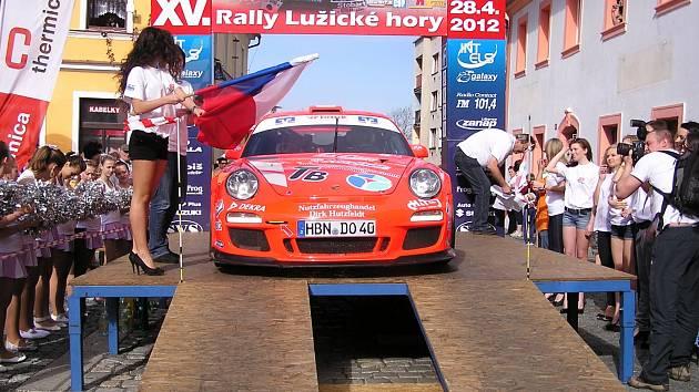Rally Lužické hory.