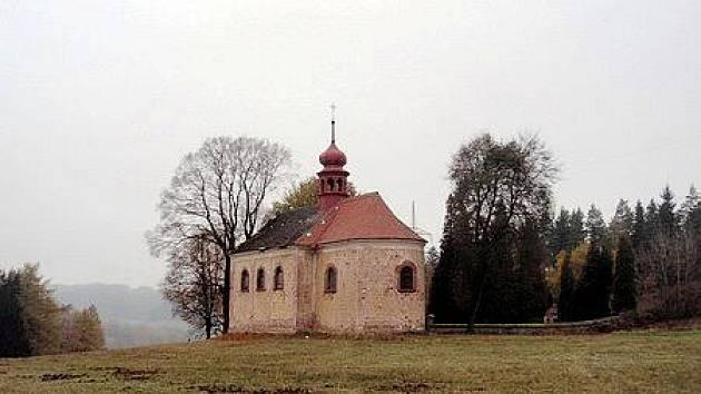 Kostel sv. Máří Magdalény ve Stupné.