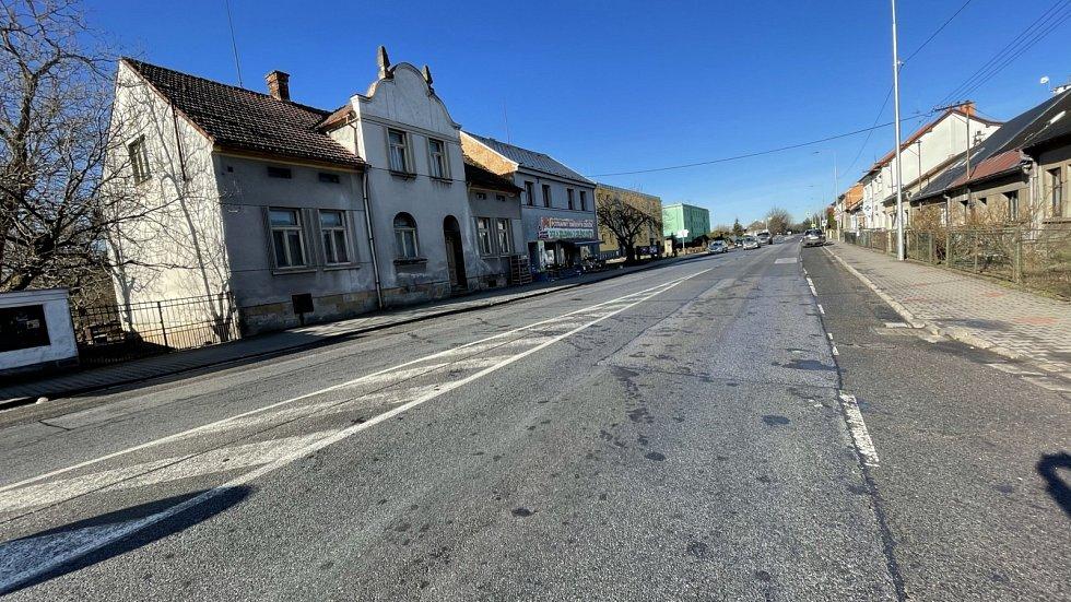 Stav silnice v Ostroměři