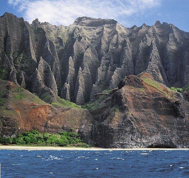 Obrázky Leoše Šimánka z Havajských ostrovů.