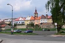 Jičínská Tamlovka - parkoviště.