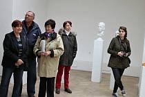 Z výstavy Soutěž tří portrétů.