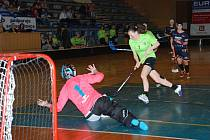 Druhé utkání baráže, ve kterém ženy FBK Jičín rozhodly o svém vítězství.