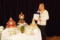 Výrobky novopackých cukrářů na soutěži Gastro slavily úspěch.