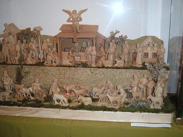 Z výstavy betlémů.