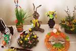 Z velikonoční výstavy ve Vitiněvsi.