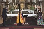 Koncert v rámci Dvořákova festivalu v jičínském kostele sv. Jakuba.