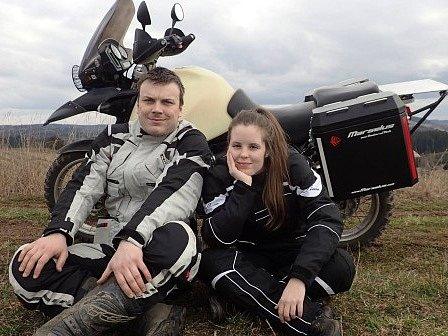 Fanda Nykl a Kačka Kadlusová.