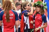 Druhý nejcennější kov. Orientační běžkyně Šárka Rückerová získala stříbro na mistrovství Evropy.