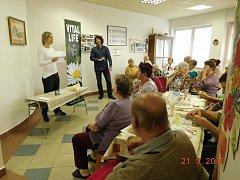 Vzdělávací akce pro sobotecké seniory.