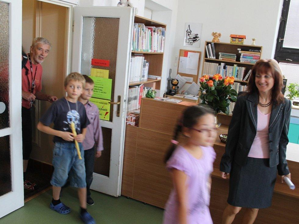 Z dětského oddělení jičínské knihovny.