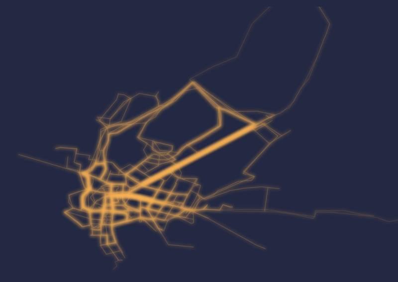 Pocitová mapa: Kudy nejčastěji chodí pěší?
