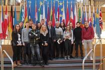 Novopačtí studenti ve Štrasburku.
