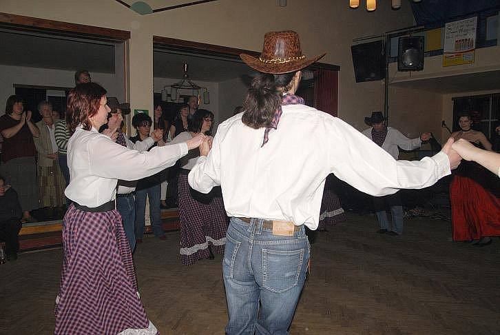 Westernový den na Veliši.