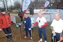 Pravidelnými účastníky Mikulášského běhu jsou již tradičně bratři Zikmundovi a Josef Lidický.