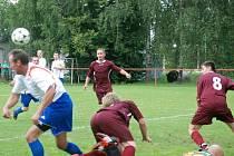 Fotbal Milíčeves - Robousy.