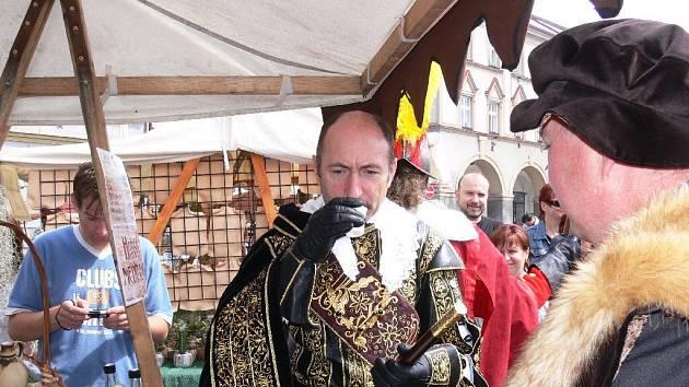 Vévoda Albrecht z Valdštejna v Jičíně.