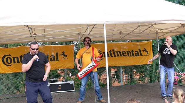 Dětský den s Continentalem na jičínském stadionu.