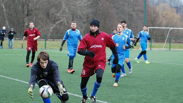 Hyundai zimní pohár OFS Jičín Milíčeves - Lužany.