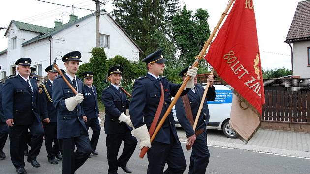 Hasičská sláva v Mladějově.