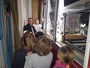 První schůzka mladých kopidlenských hasičů.